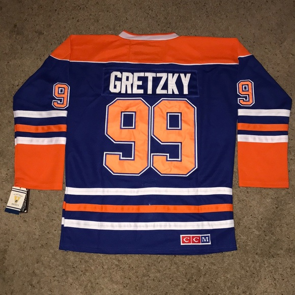 save off cc0b5 e3b70 Vintage Wayne Gretzky Edmonton Oilers Jersey NWT